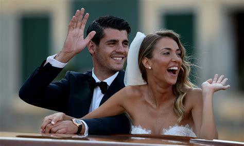 ¿Será Inglaterra el nuevo destino de Álvaro Morata y Alice ...
