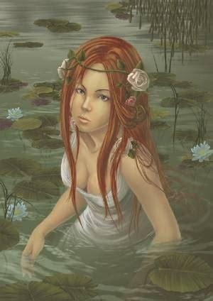 Seres fantásticos y mitológicos: Las ninfas, bellas e ...