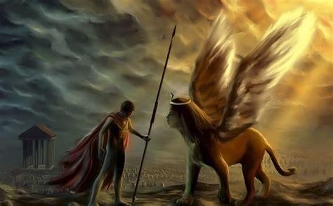 Seres mitologicos griegos | mitologia | Esfinge, Mitología ...