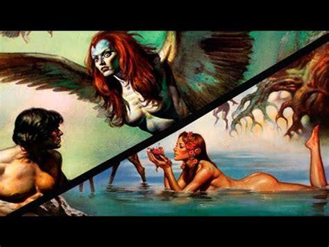 ||Seres mitologicos|| Las ninfas y las harpìas   YouTube