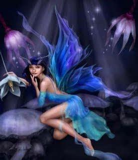 Seres mitológicos: Ninfa del bosque