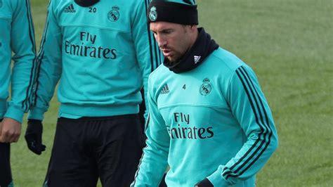 Sergio Ramos, dos semanas de baja por una lesión muscular