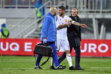 Sergio Ramos estará varias semanas de baja por lesión en ...