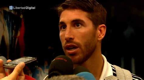Sergio Ramos lamenta la lesión de Casillas   YouTube