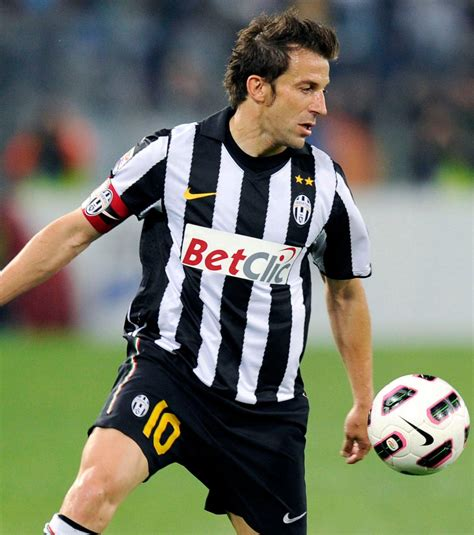 Serie A: Alessandro Del Piero,  Juve Milan, le premier ...