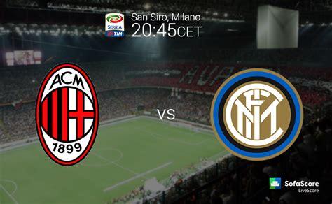 Serie A TIM 12th round: Derby della Madonnina   AC Milan ...