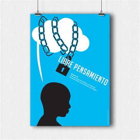 Serie de 3 carteles sobre Derechos Humanos on Behance