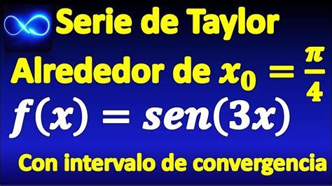 Serie de Taylor alrededor de x=pi/4, de función seno, y su ...