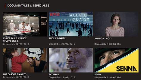 Series, películas y documentales en Netflix septiembre ...