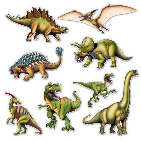 Set de 8 decoraciones Dinosaurios   My Karamelli