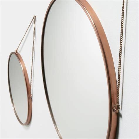 Set de dos espejos metálicos Tino   Kenay Home