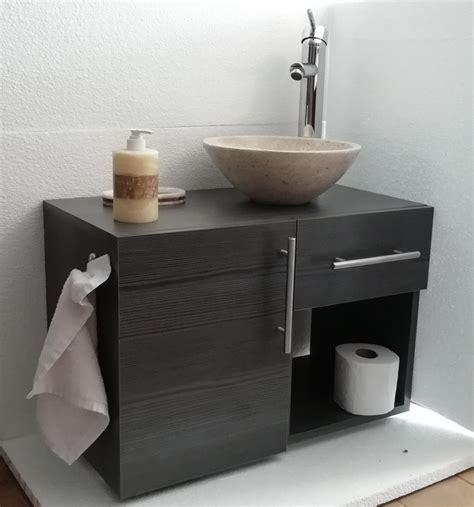 Set: Mueble Para Baño, Ovalin De Marmol Y Monomando ...