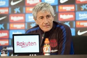 Setién habló de la salud de Vidal y la polémica Messi ...