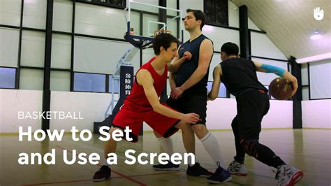Setting and Using a Screen | Basketball   YouTube