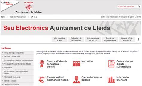 Seu Electrònica   Ajuntament de Lleida | eCityclic ...