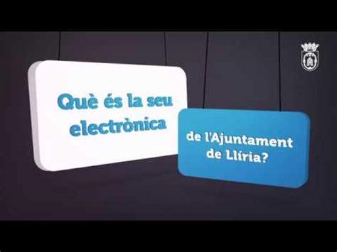Seu Electrònica de Llíria   YouTube
