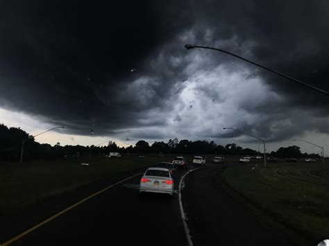 Severe thunderstorm moving into Allentown, PA 7/24 : weather