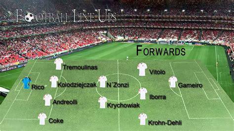 Sevilla 2 1 Barcelona  Sevilla Starting Lineup  La Liga ...