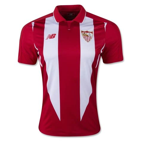 Sevilla 2015 16 Away Soccer Jersey | SoccerFollowers.org