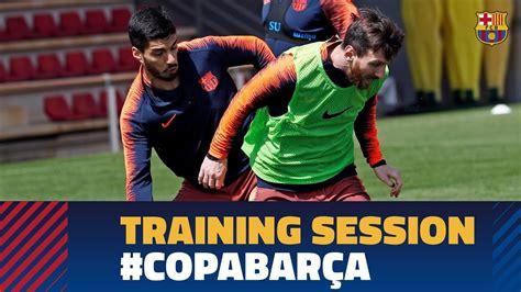 SEVILLA   BARÇA | Squad train for Copa del Rey final   YouTube