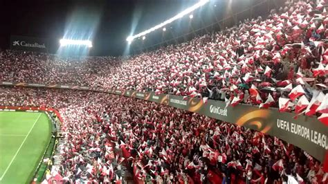 Sevilla FC anthem himno   El Arrebato   vs Shaktar Donesk ...