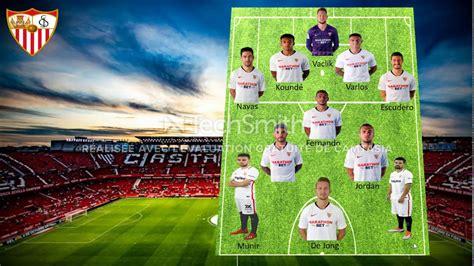 sevilla fc lineup 2020  laliga    Best players of sevilla ...