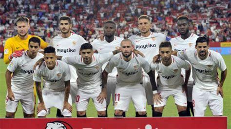 Sevilla FC: Sevilla: alineación oficial frente al ...