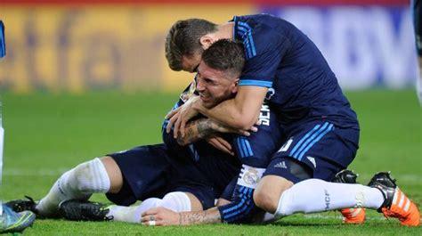 Sevilla   Real Madrid: Sergio Ramos marca y se daña el ...
