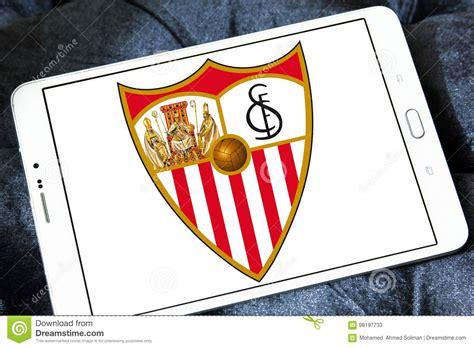 Sevilla soccer club logo editorial stock photo. Image of ...