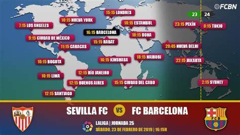 Sevilla vs FC Barcelona en TV: Cuándo y dónde ver el ...
