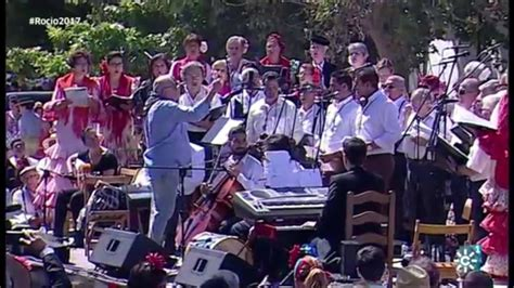 Sevillanas   MISA DE ROMEROS  Rocío 2017    YouTube