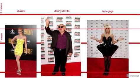 Shakira: Estatura comparada con famosos.   YouTube