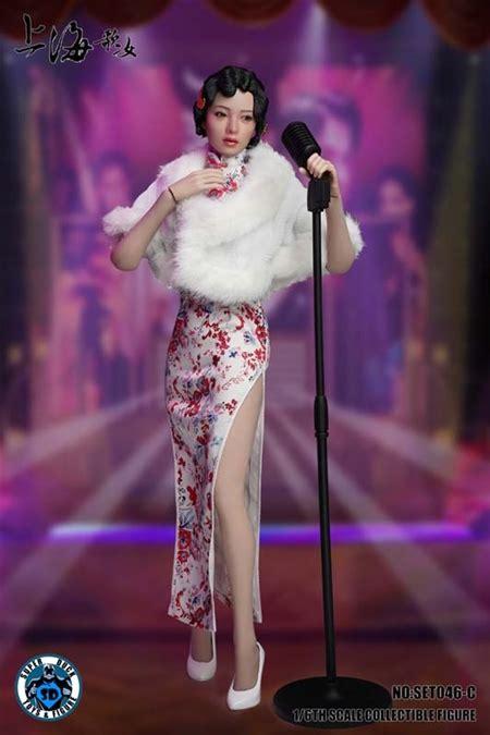 Shanghai Sing song Girl   White Version   Super Duck 1/6 ...