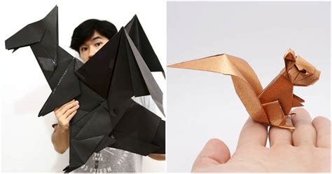 Shape Shifting Origami Creations By Jo Nakashima