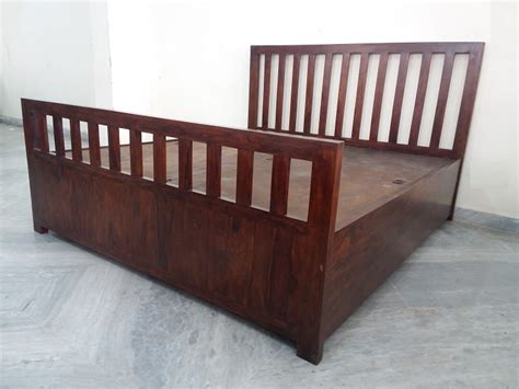 Sheesham Wood Double Bed | Used Furniture for Sale