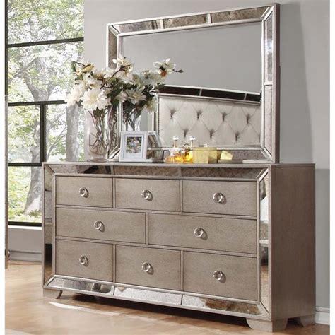 Shop Best Master Furniture Silver Bronze Dresser and ...