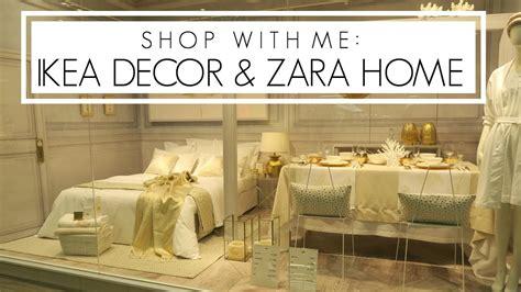 Shop With Me: IKEA Decor + Zara Home   YouTube
