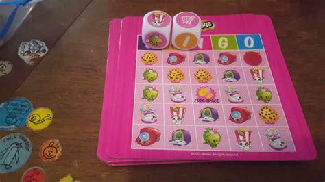 Shopkins Bingo juegos de mesa para niños 4+   YouTube