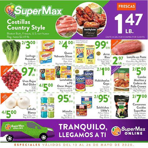 Shopper SuperMax 13 de Mayo al 26 de Mayo de 2020