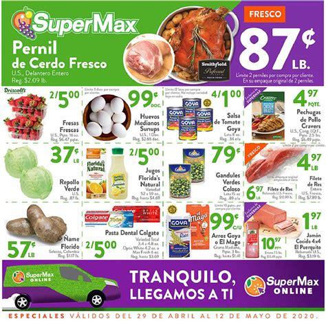 Shopper SuperMax 29 de Abril al 12 de Mayo de 2020