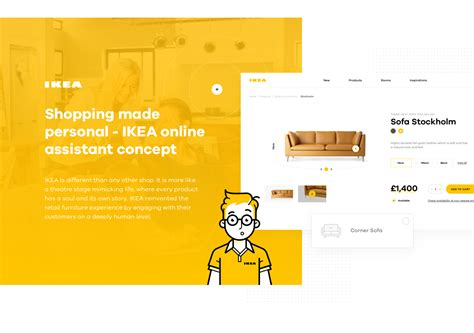 Shopping made personal   IKEA online experience concept on ...