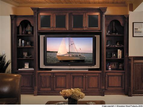 Showplace Cabinets   Family Room   Traditional   Living ...