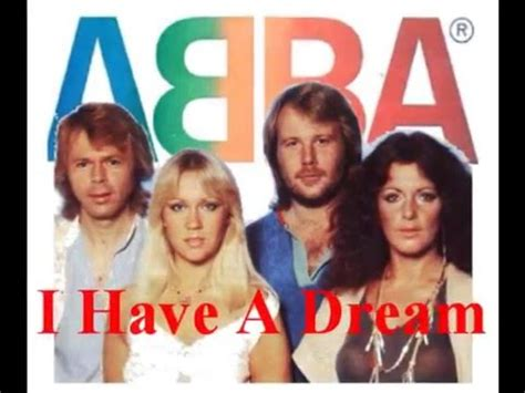 'I HAVE A DREAM'  1979   By: ABBA –  With Lyrics    YouTube