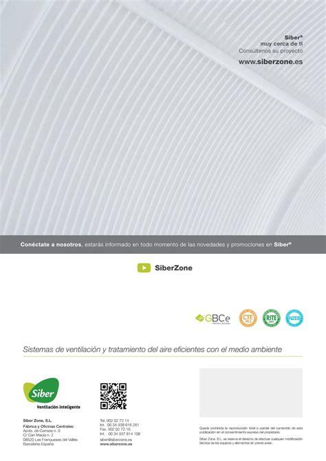 Siber catálogo ventilación de confort y eficiencia ...