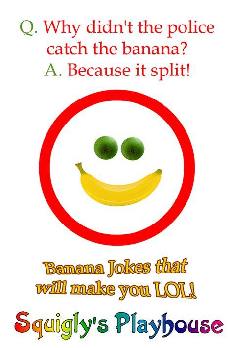 Side Splitting Banana Jokes for Kids   Squigly's Playhouse
