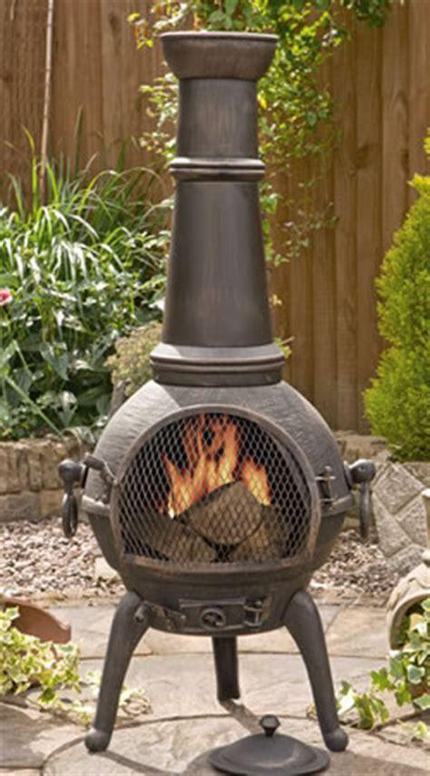 Sierra Bronze Extra Large Cast Iron Chimenea Fireplace ...