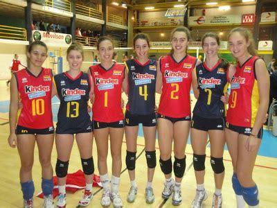 Siete de Alcobendas representando a España   Club Voleibol ...