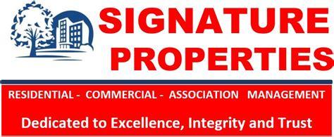 Signature Property Management, LLC   Local Management ...