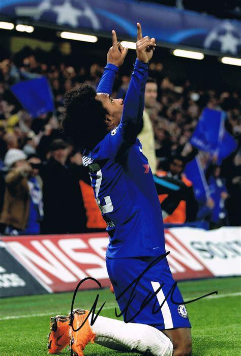 Signed Willian Chelsea Photo