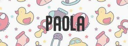 Significado de Paola   NombresySignificados.com